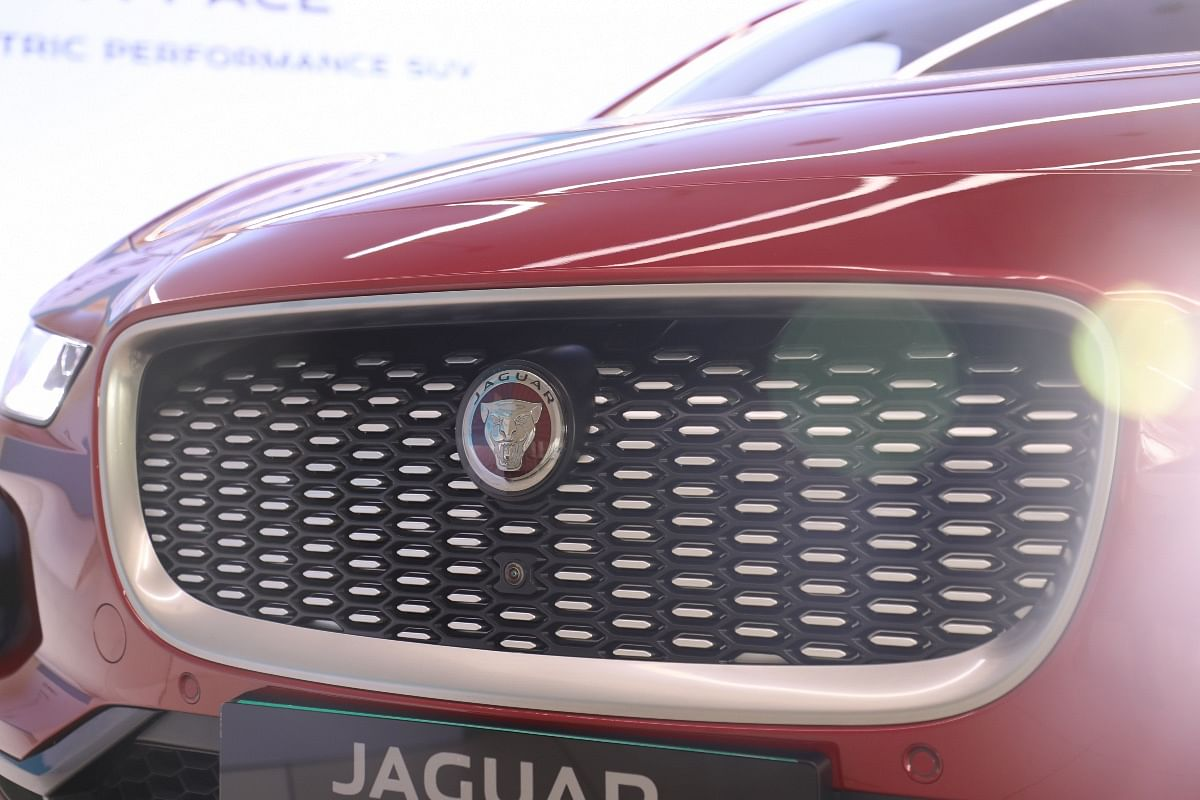 Jaguar I-Pace's grille is fake but it has a vent integrated inside to smoothen airflow