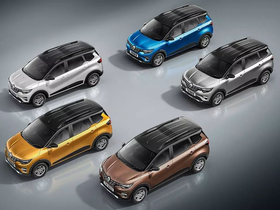 2021 Renault Triber launched with dual-tone colour option