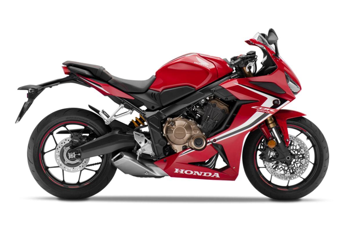 Honda CBR650R in Grand Prix Red