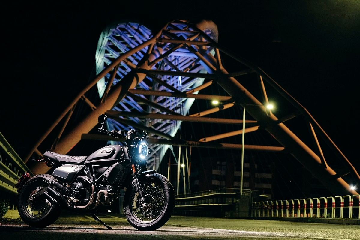 The all-new Ducati Scrambler Nightshift