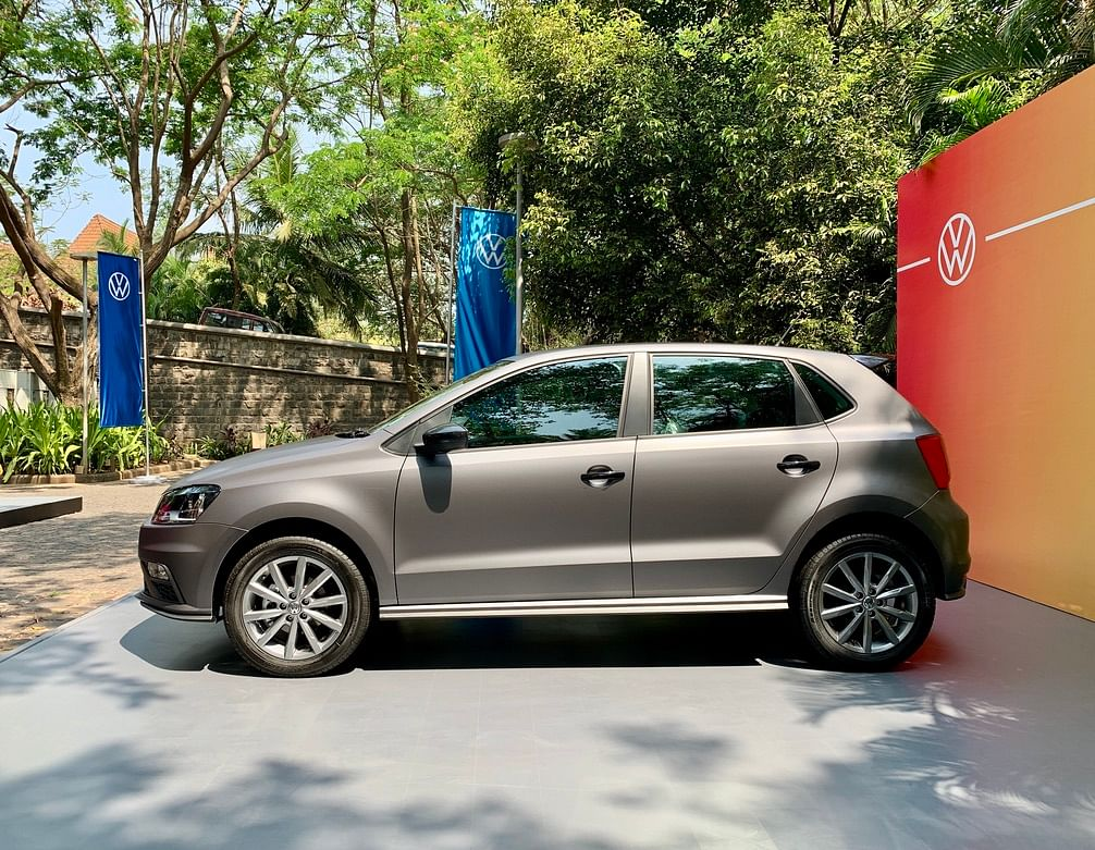 Volkswagen Polo Matt Edition gets the same 16-inch rims as the standard Polo GT