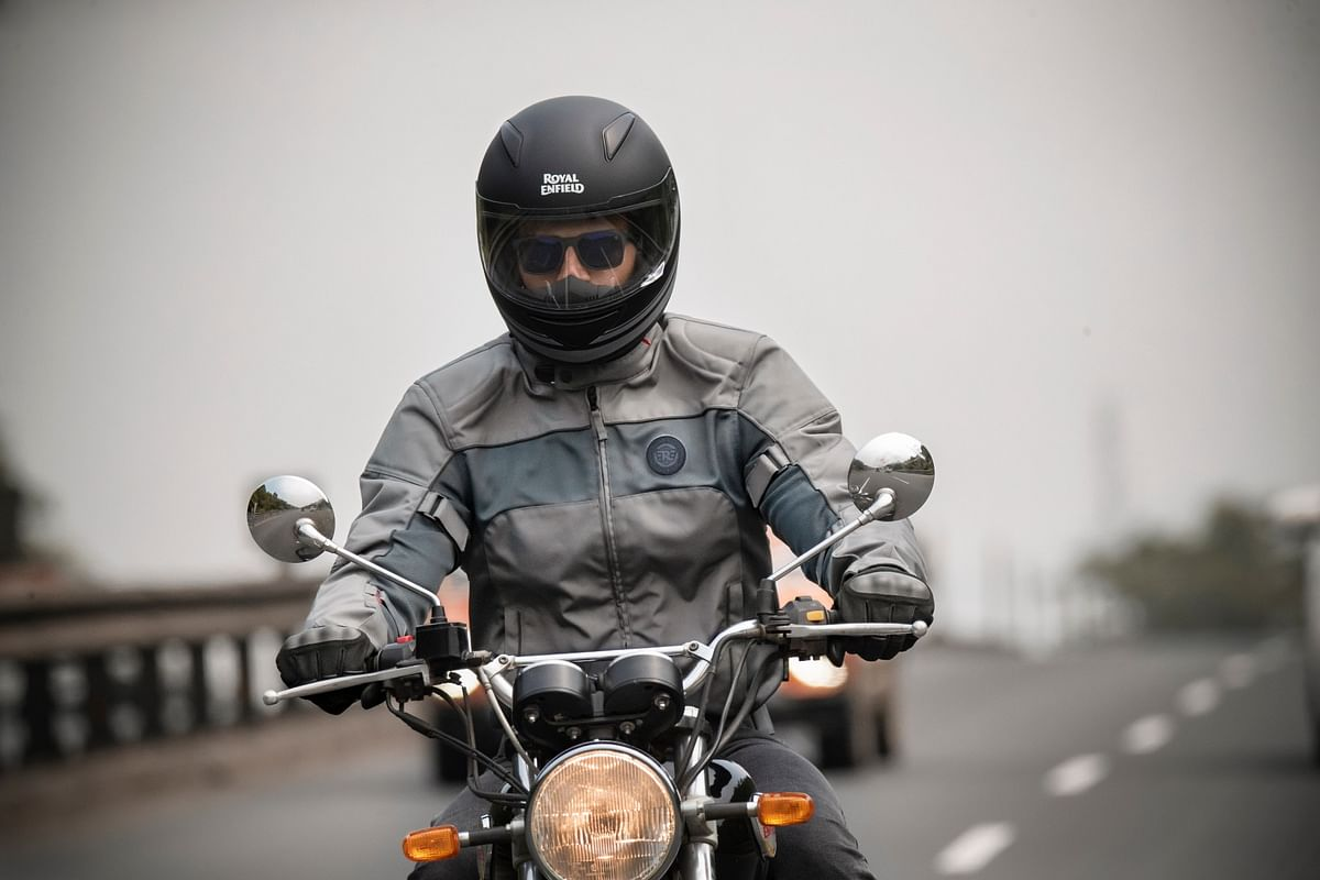 Royal Enfield Explorer riding jacket with Knox Armour