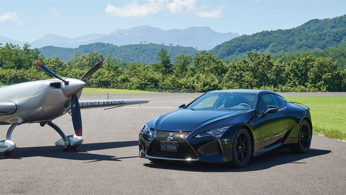 Lexus LC 500h limited-edition revealed