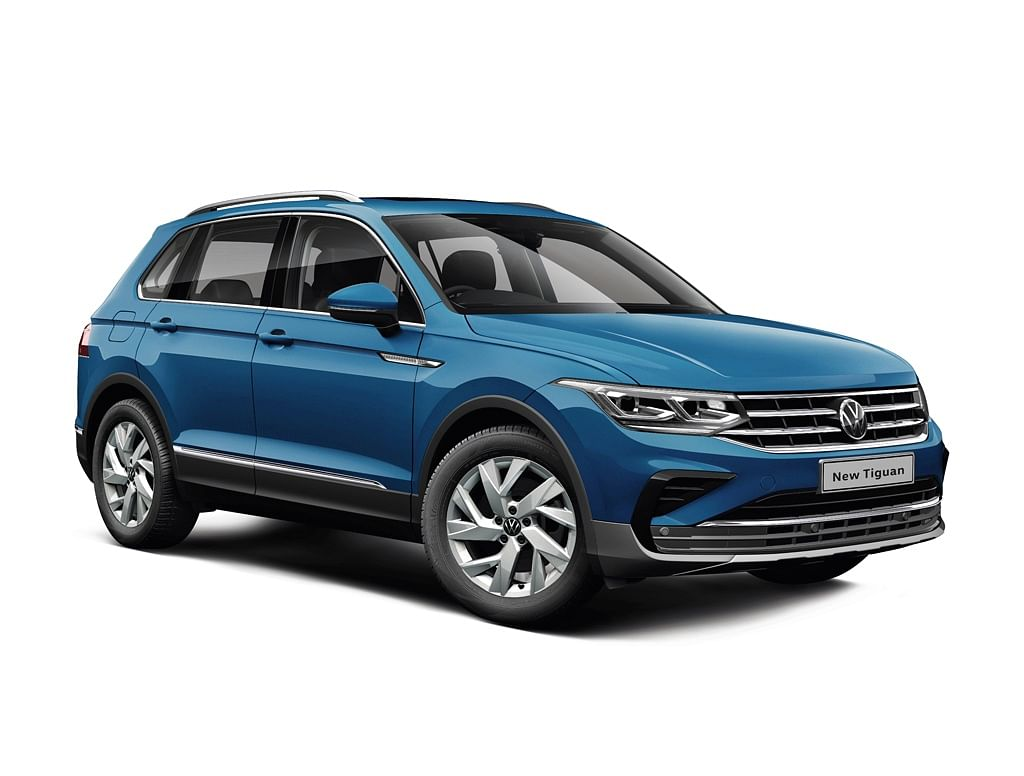 2021 Volkswagen Tiguan | The fourth SUVW