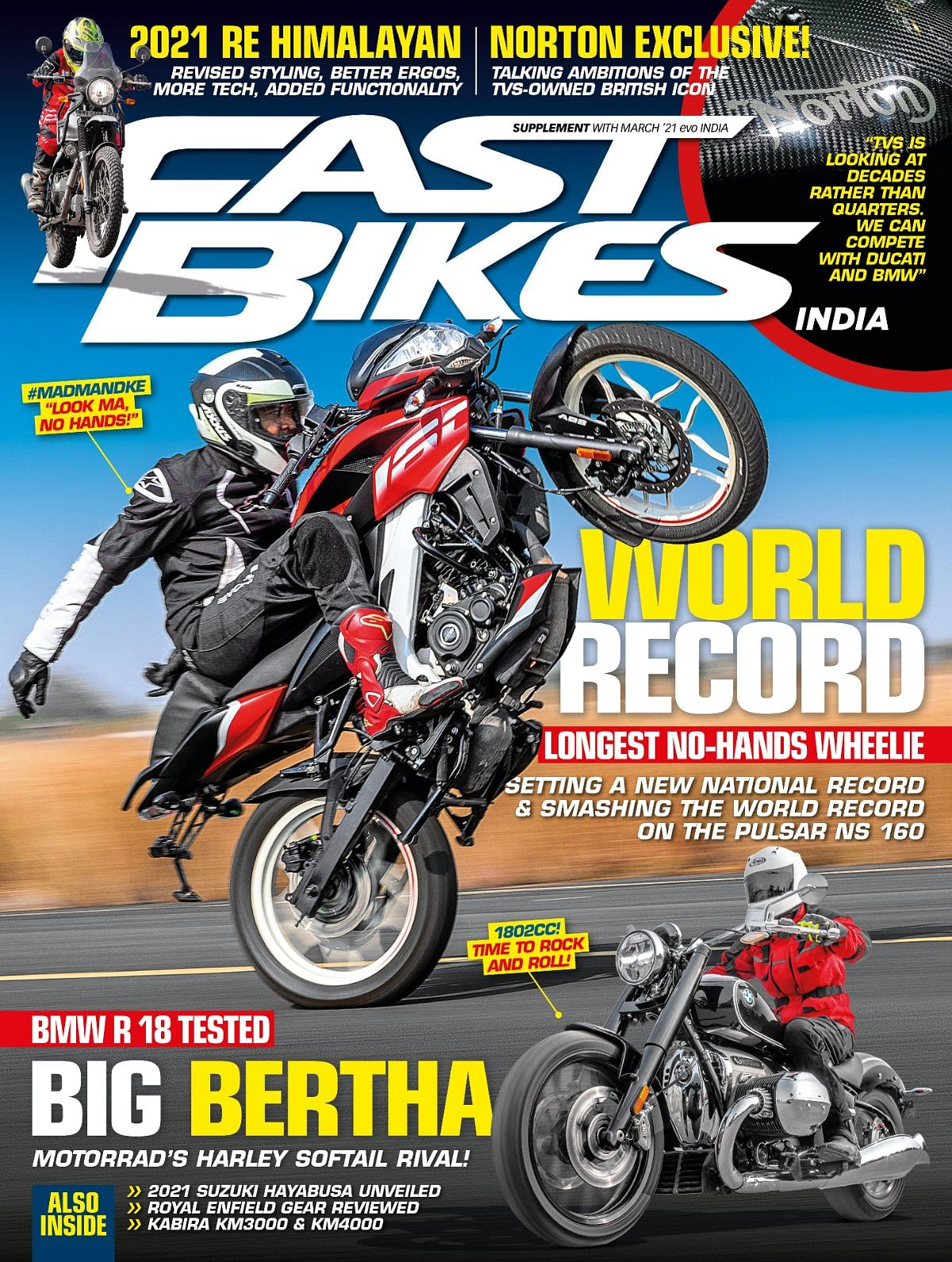 An action packed month for the motorcycle fraternity