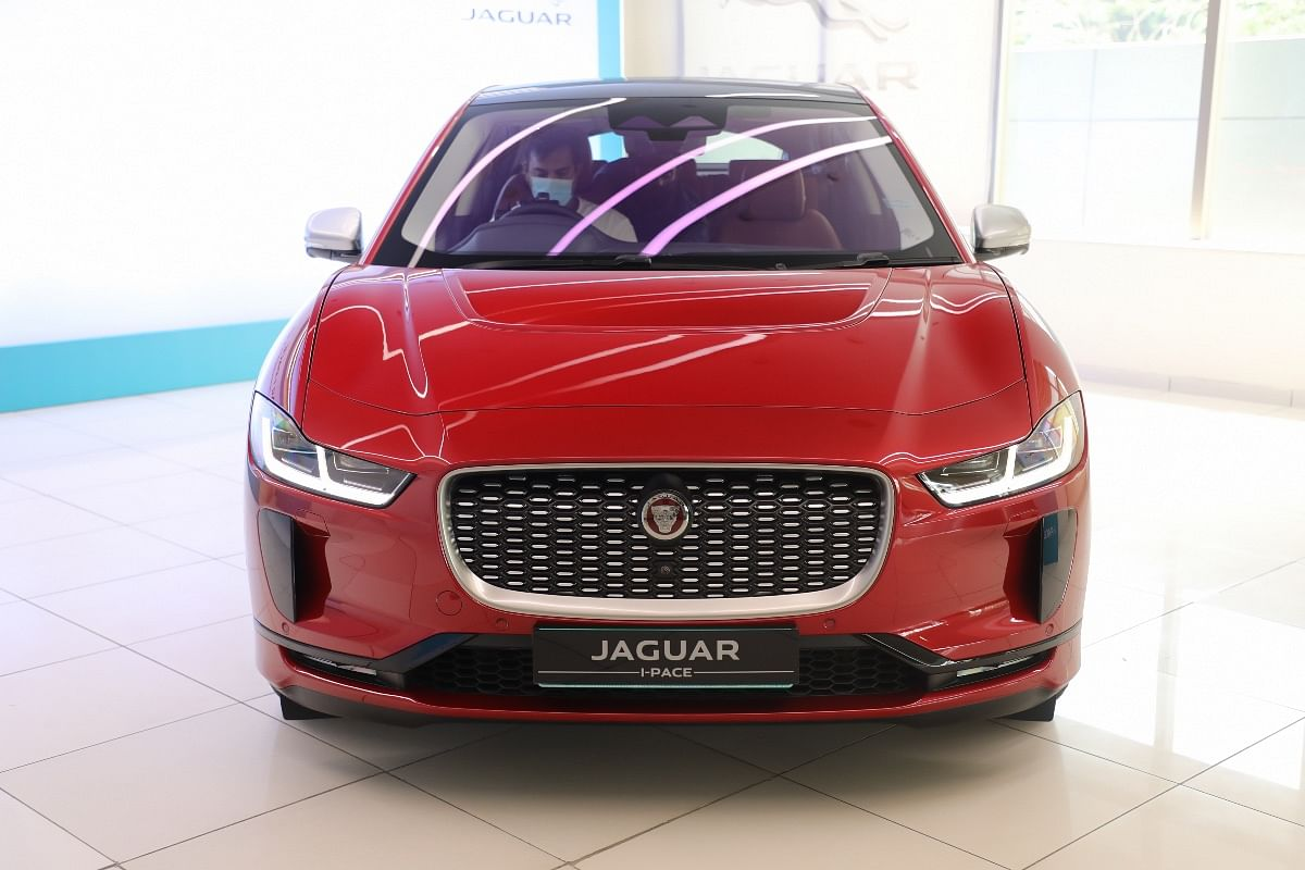 Jaguar I-Pace's front-end is more traditional, almost like a regular ICE vehicle