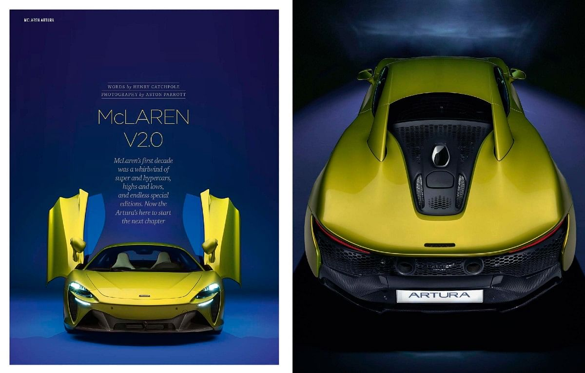 The McLaren Artura with an all-new carbonfibre tub guides us at how the future of McLaren is going to look like