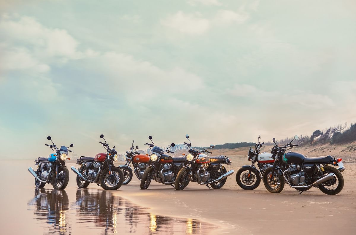2021 Royal Enfield Interceptor 650 and Continental GT 650 launched with new colour schemes