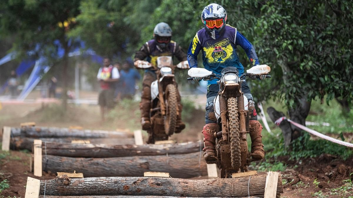 The special track designed by CS Santosh is the toughest two-wheeler race in the country