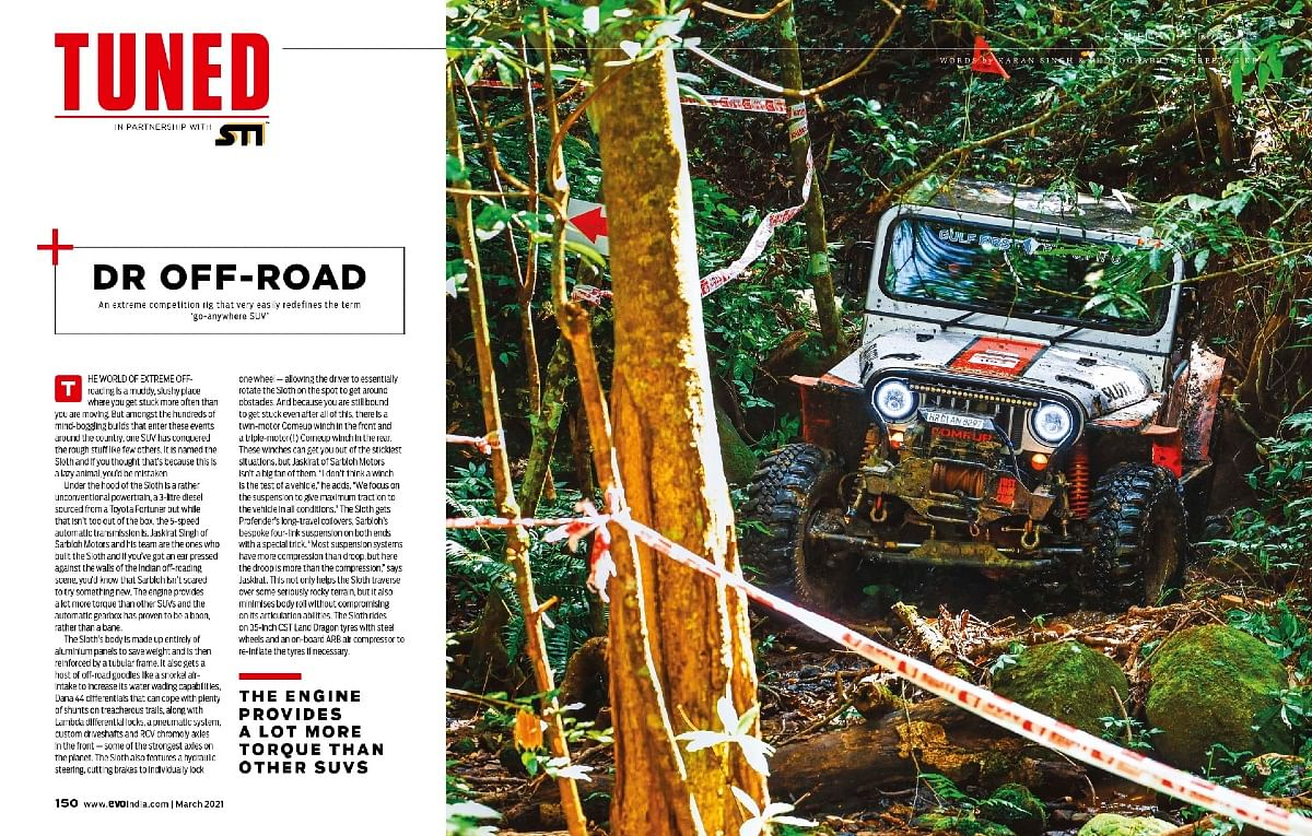 Sarbloh Motors' off-road build will make you go nuts