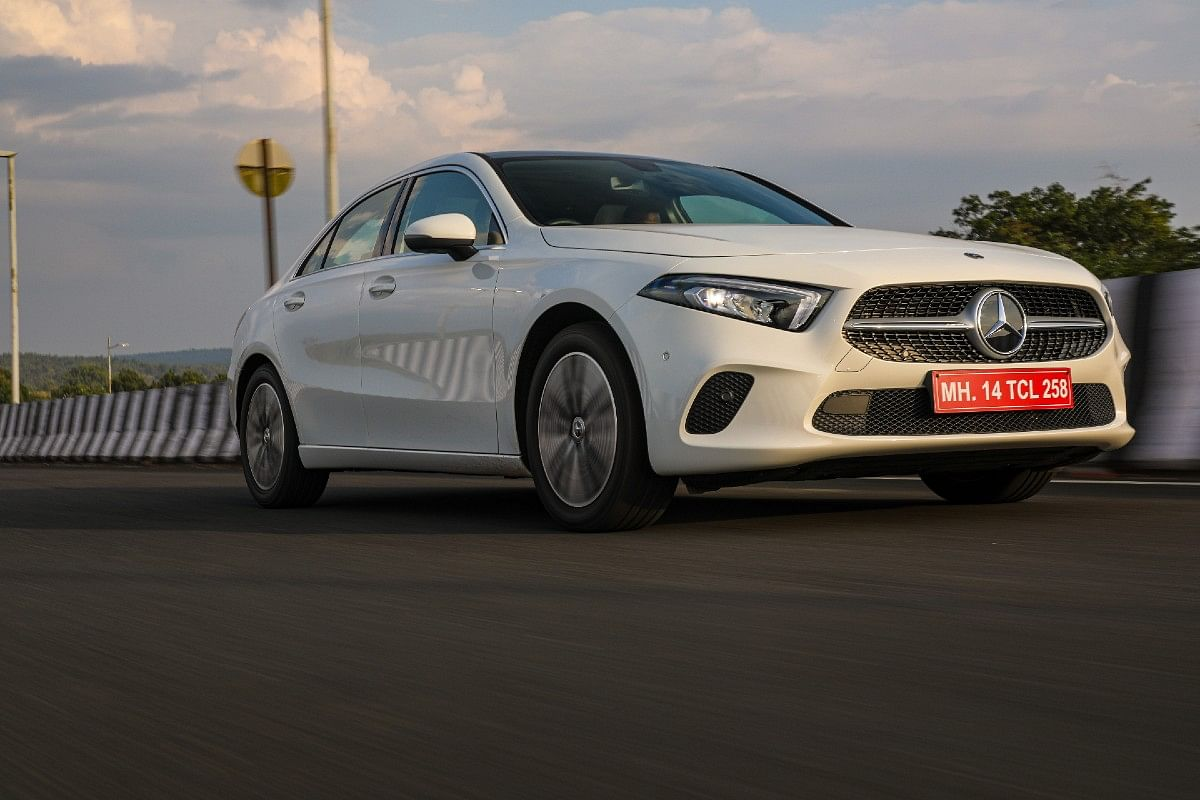 The Limo suffix in the Mercedes-Benz A-Class Limousine indicates, the focus is on comfort and back seat space
