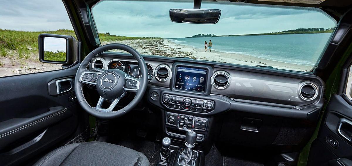 The Jeep Wrangler gets a hoseable interior