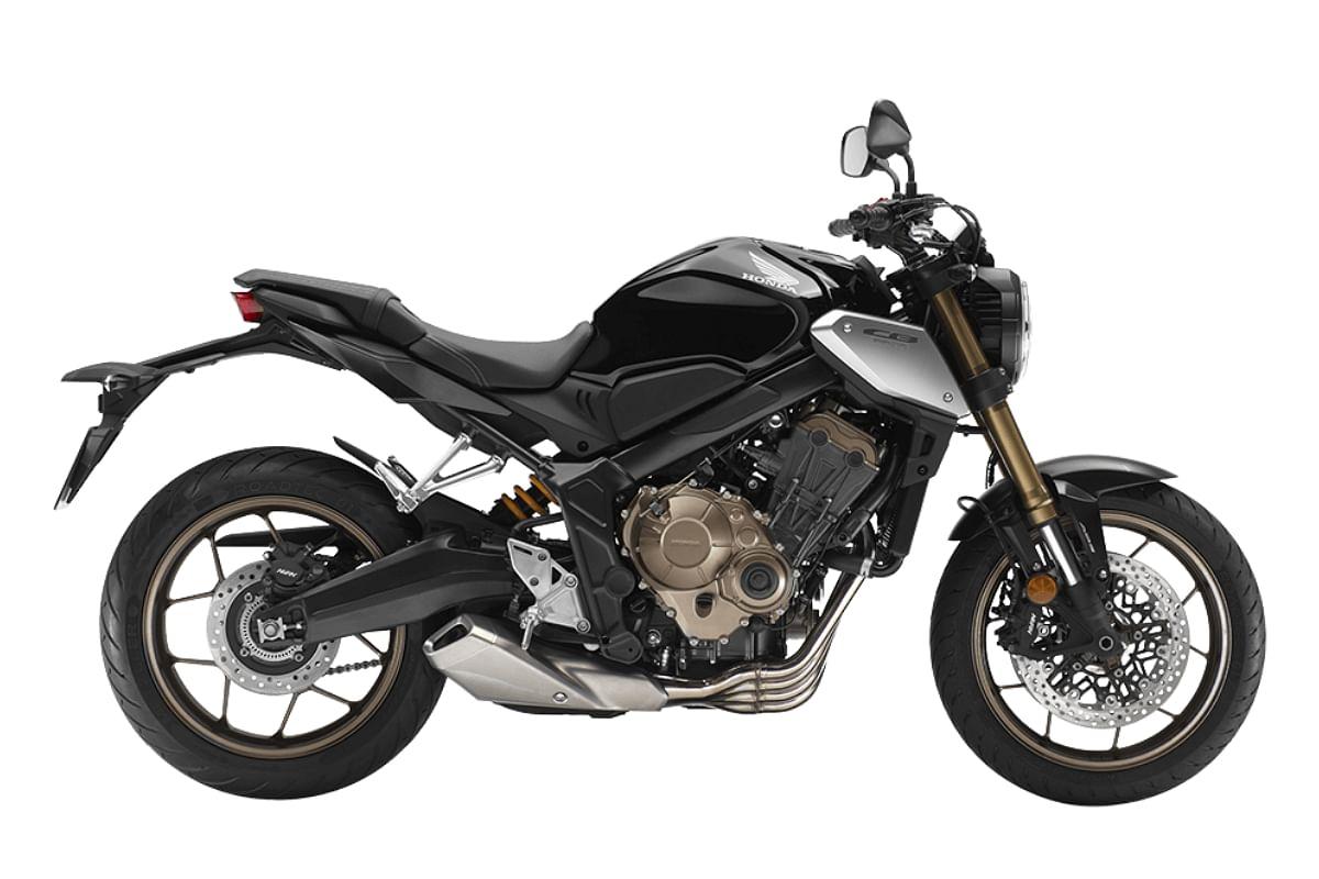 Honda CB650R in Matte Gunpowder Black Metallic