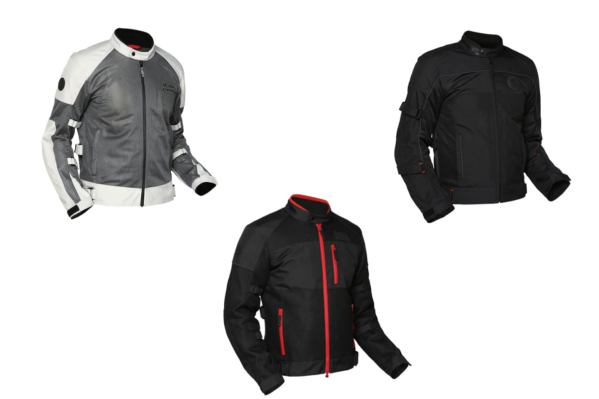 Royal Enfield's new lineup of jackets