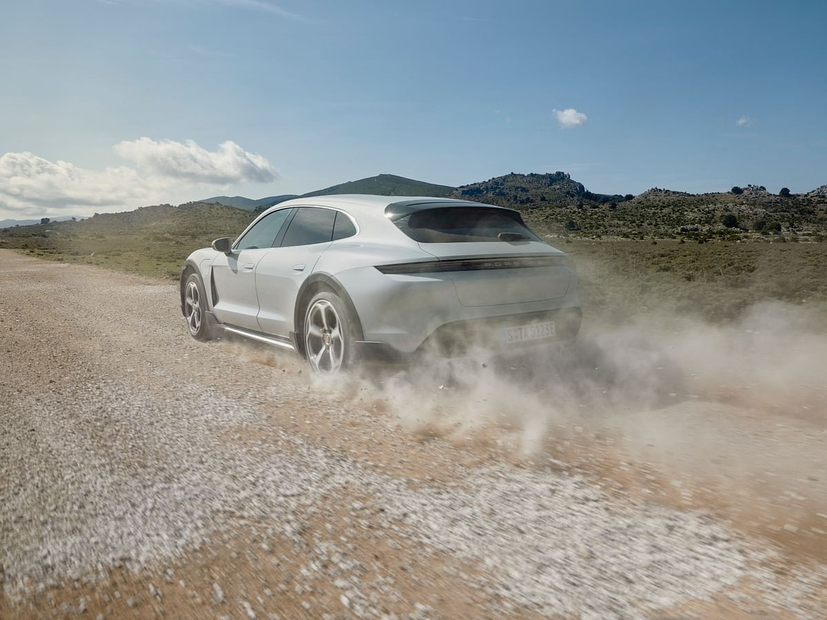Porsche unveils Taycan Cross Turismo: The perfect Taycan for India?