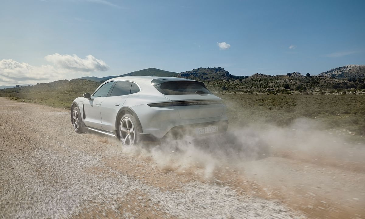A Porsche Taycan that you can take (almost) anywhere!