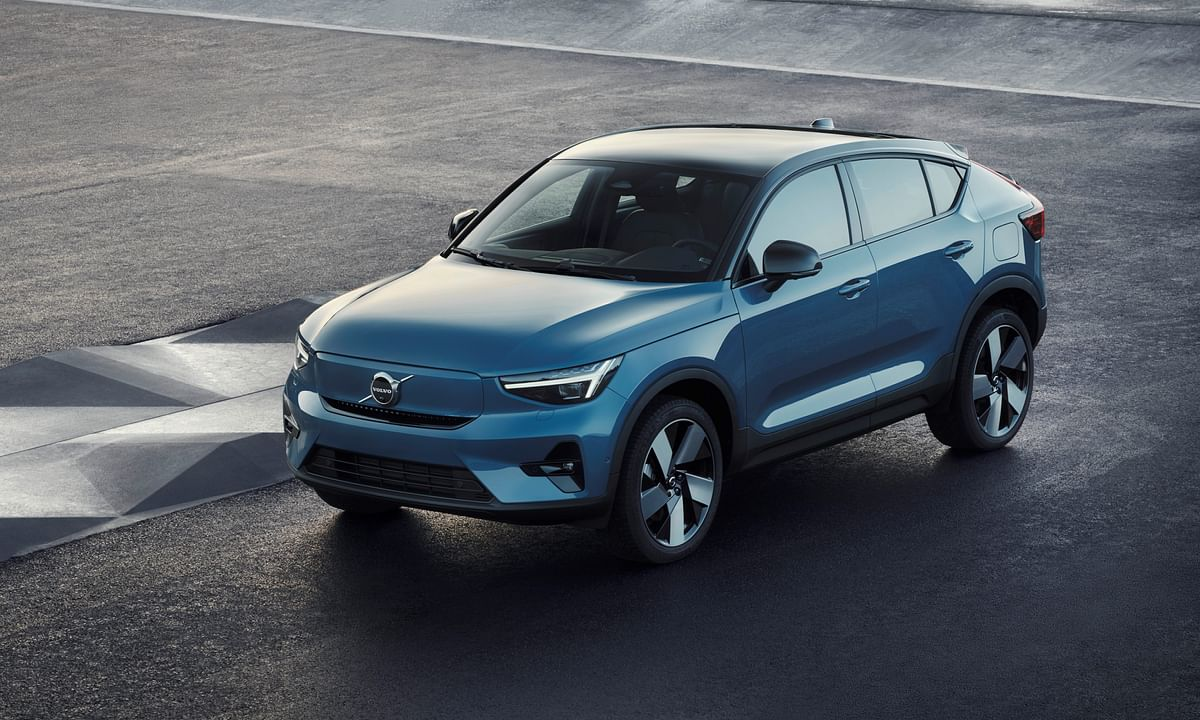 Volvo's newest SUV, the C40, is all electric and styled to please