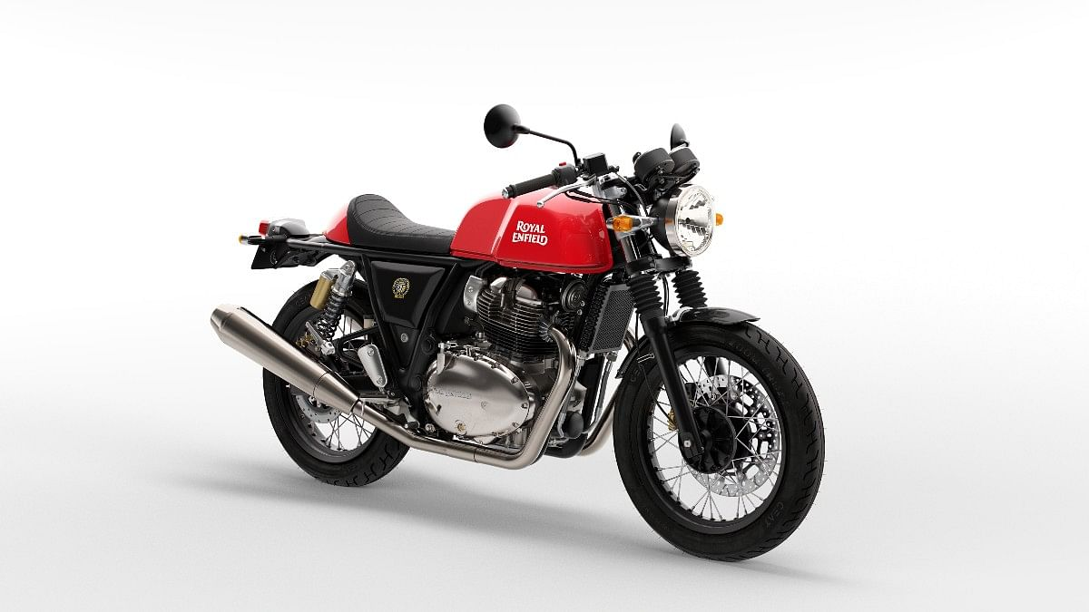 2021 Royal Enfield Continental GT 650 Rocker Red