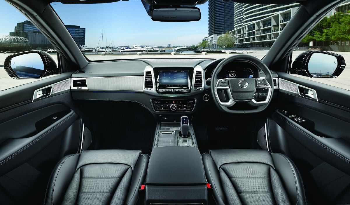 The 2021 Ssangyong Rexton gets updated interior