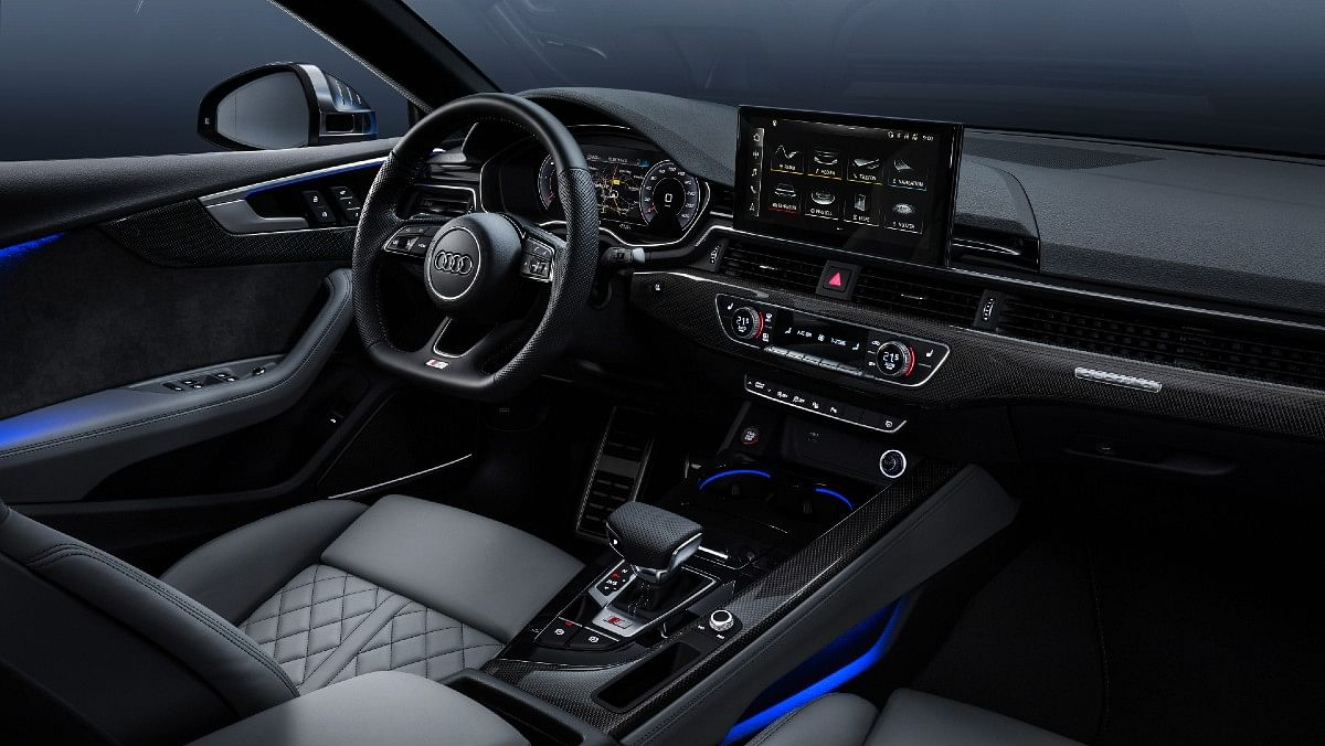 It has a 10.1-inch digital infotainment system and a a 12.3-inch digital cockpit