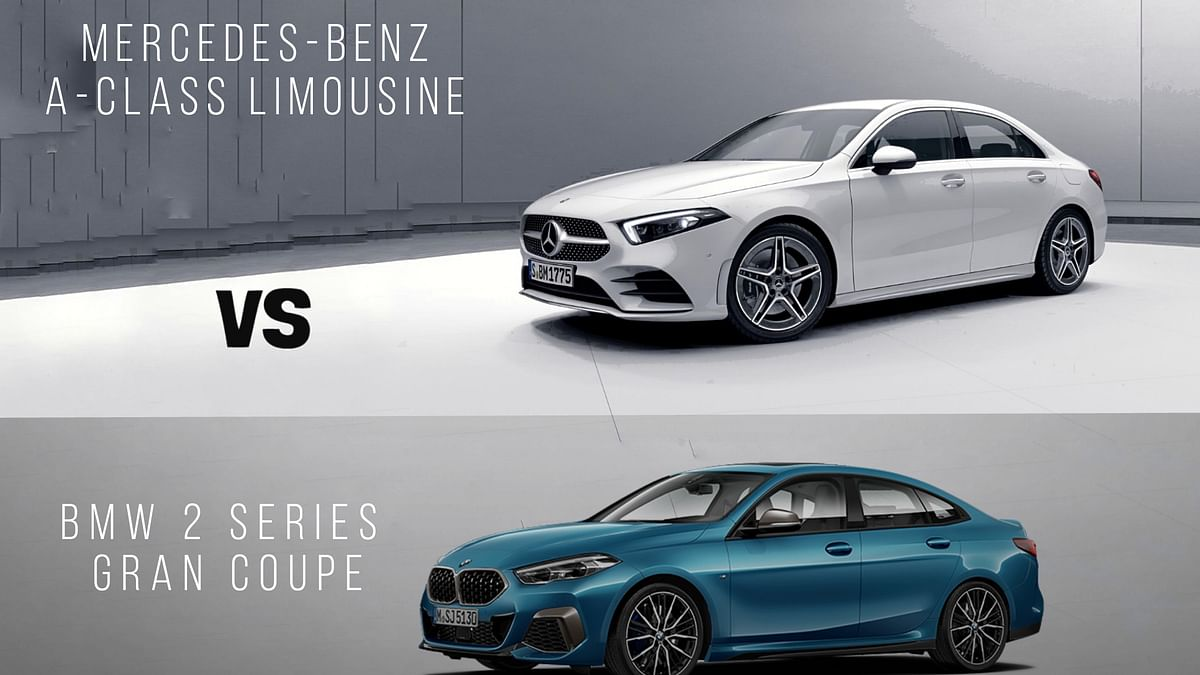 Mercedes-Benz A-Class Limousine vs BMW 2 Series Gran Coupe: Specification Comparison