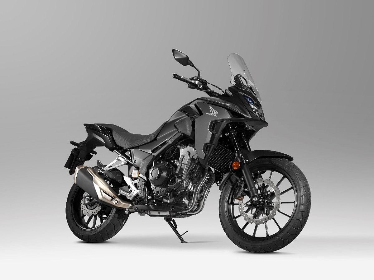 Honda CB500X in Matte Gunpowder Black Metallic