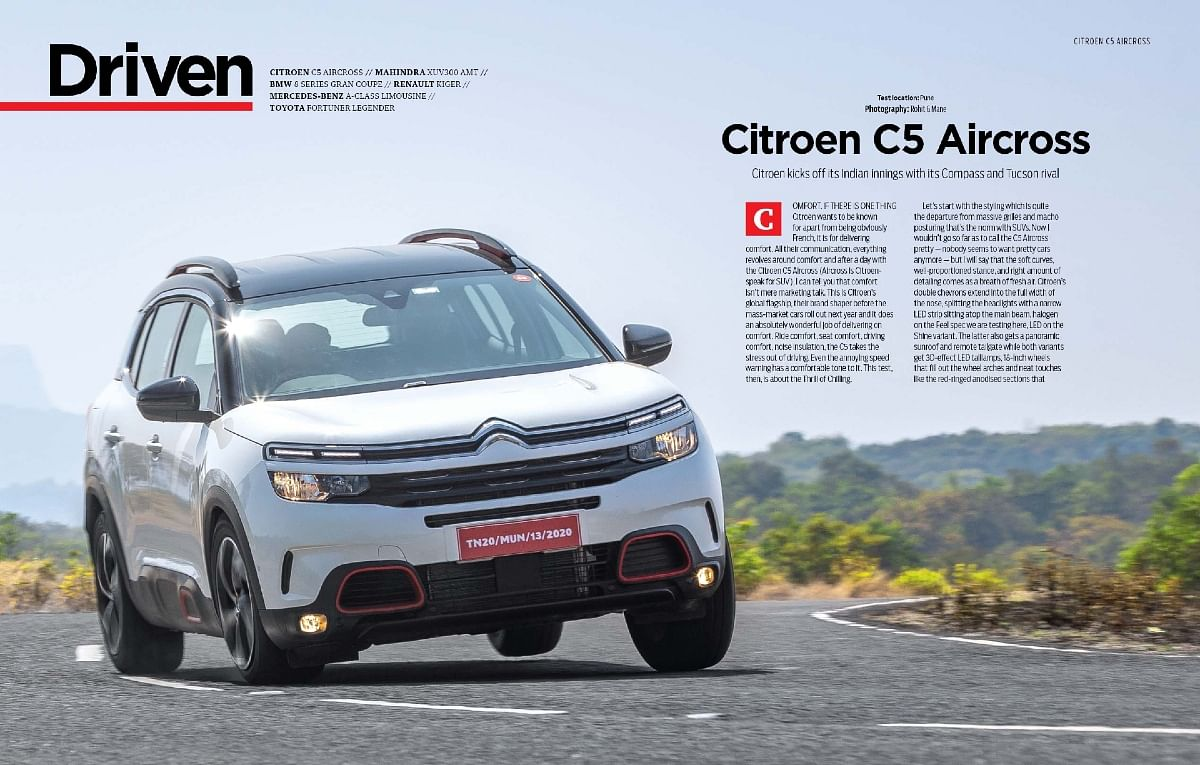Should you pick the C5 Aircross over its rivals like the Hyundai Tucson, Jeep Compass and Volkswagen Tiguan Allspace?