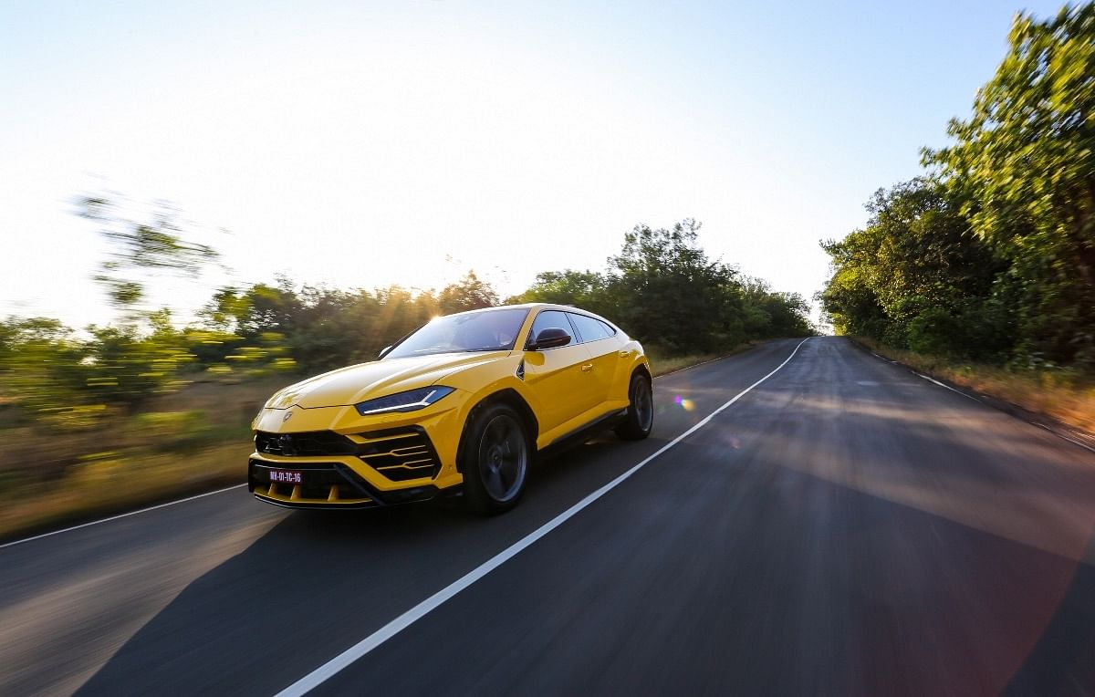 Customers of the Lamborghini Urus have been going to town with the options list