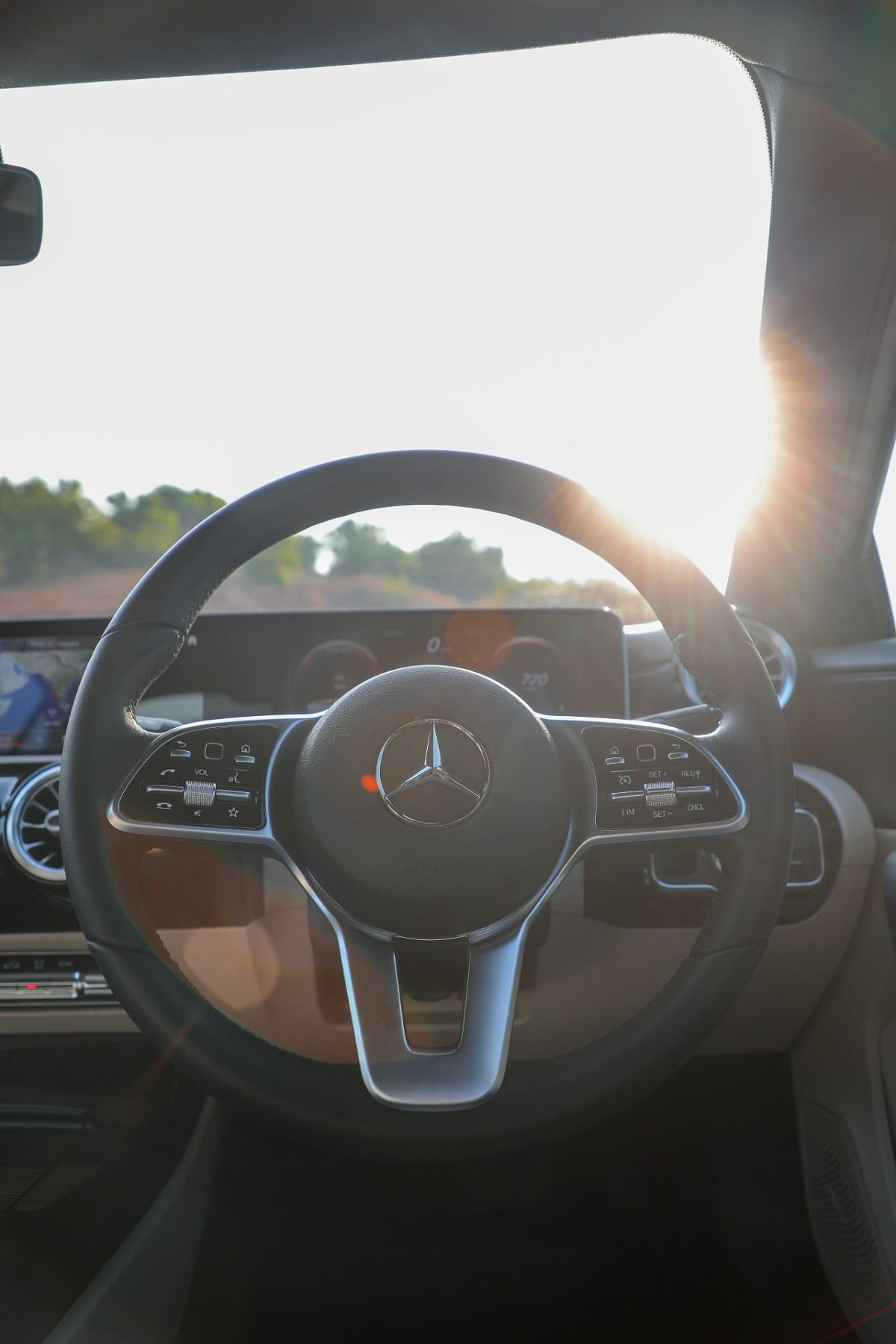 The steering is very nice, with good precision, response and eagerness.