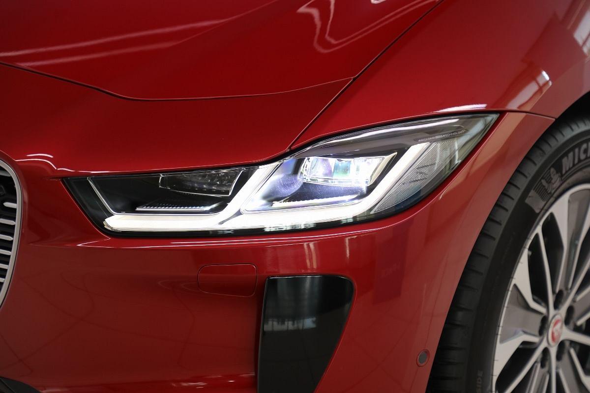 Top-spec HSE variant of the Jaguar I-Pace gets Matrix LED headlights