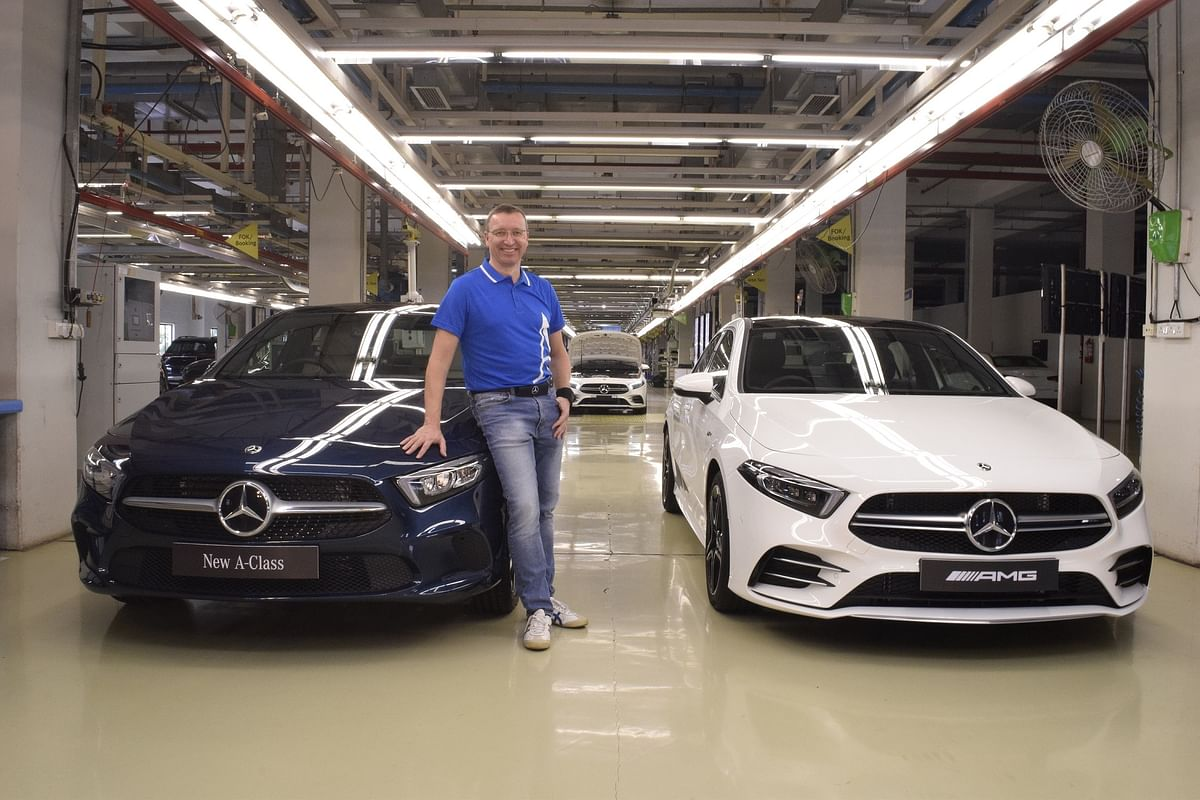 Mercedes-Benz A-Class Limousine launched at Rs 39.9 lakh