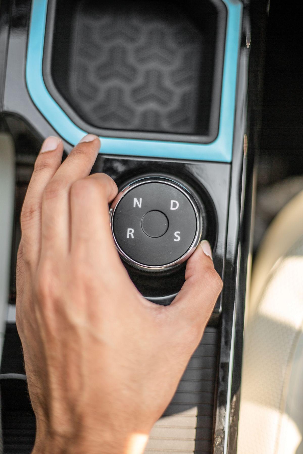 The Nexon EV gets two drive modes while the Nexon petrol has three