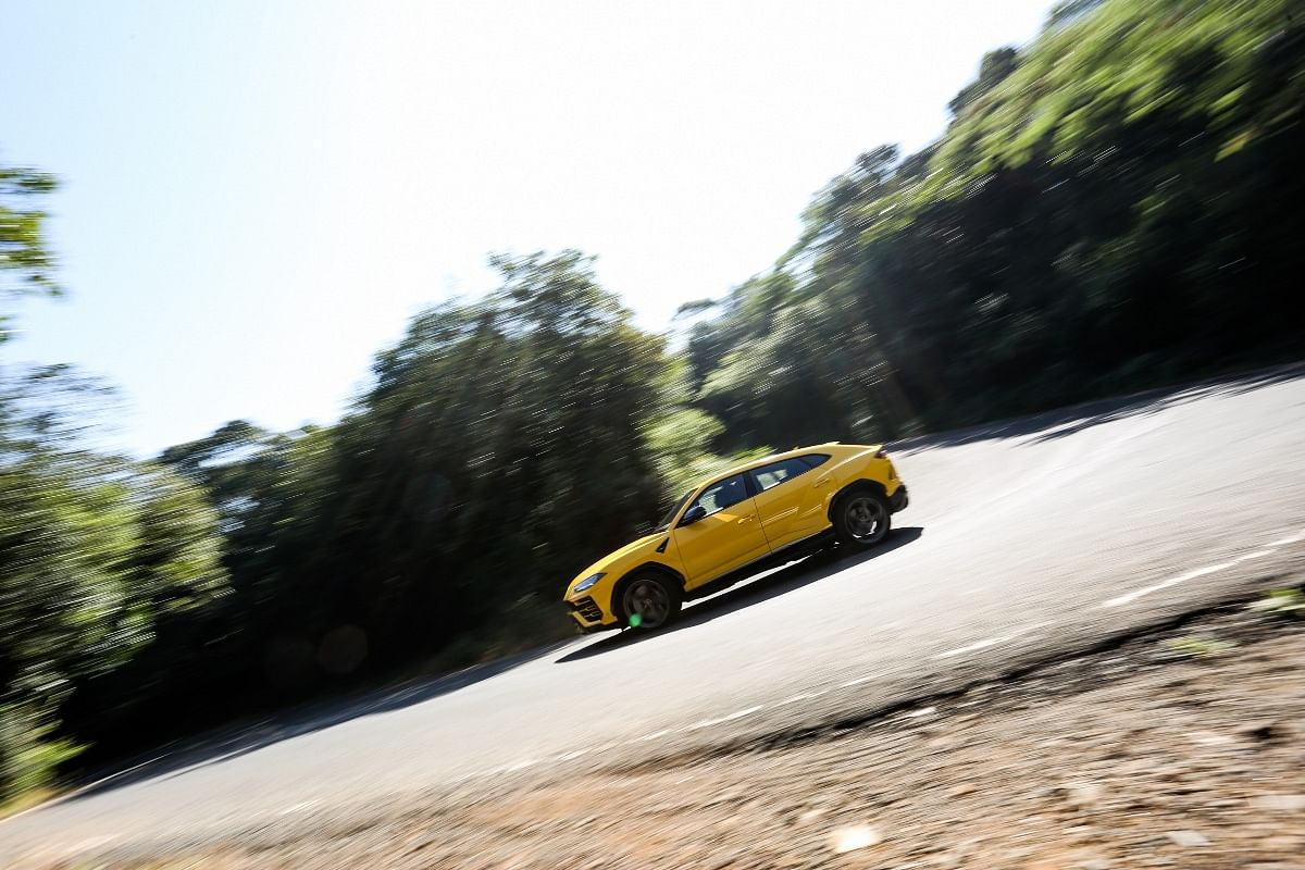 Lamborghini Urus' ground clearance and incredible firepower is the perfect recipe for India