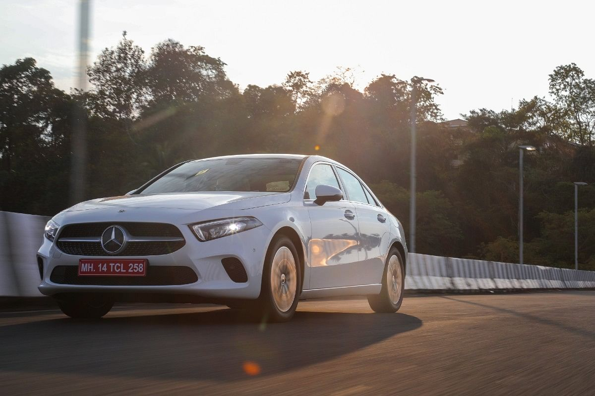 All versions of the Mercedes-Benz A-Class Limousine will come fully kitted out with the massive infotainment, panoramic sunroof, the works.