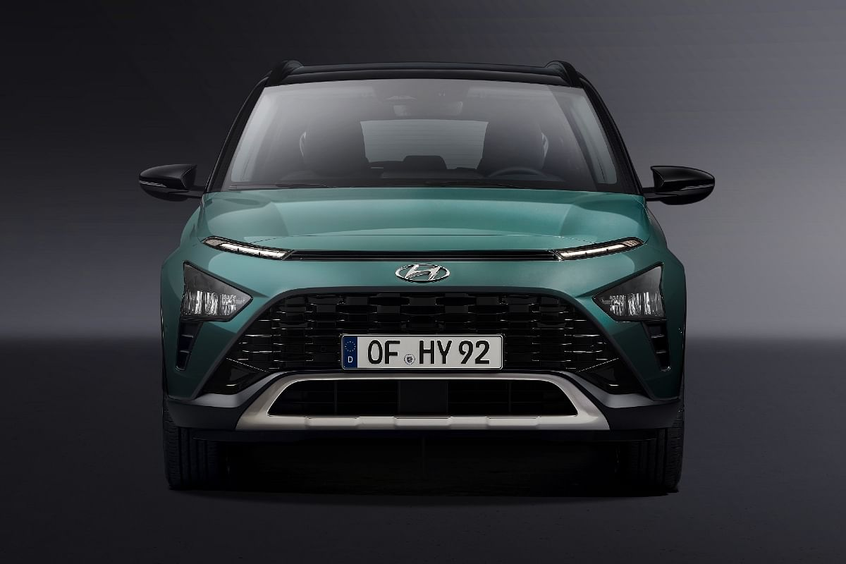Gets three-part headlamps, just like the Creta