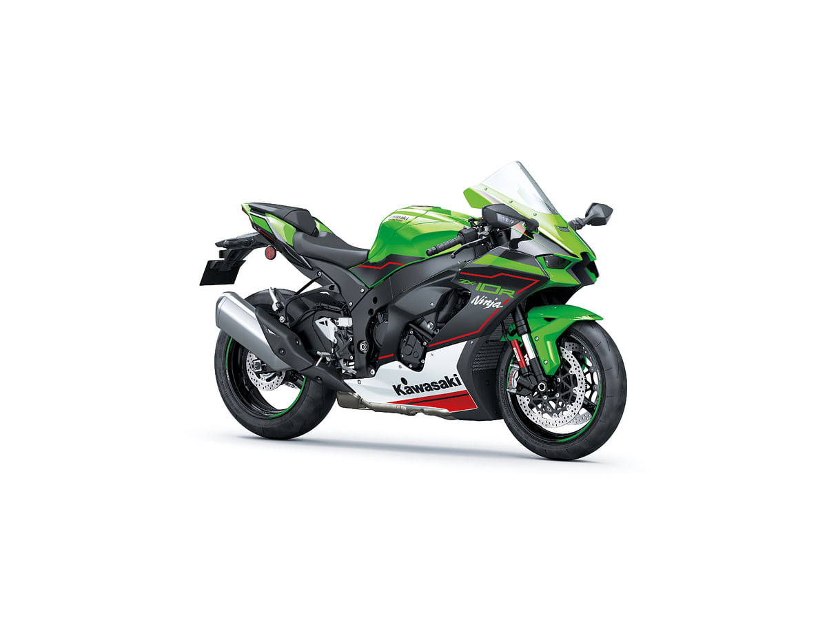 Kawasaki Ninja ZX-10R in Lime green