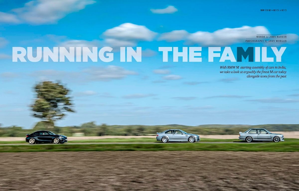 An epic test between the M2 CS against the E46 CSL and E30 M3