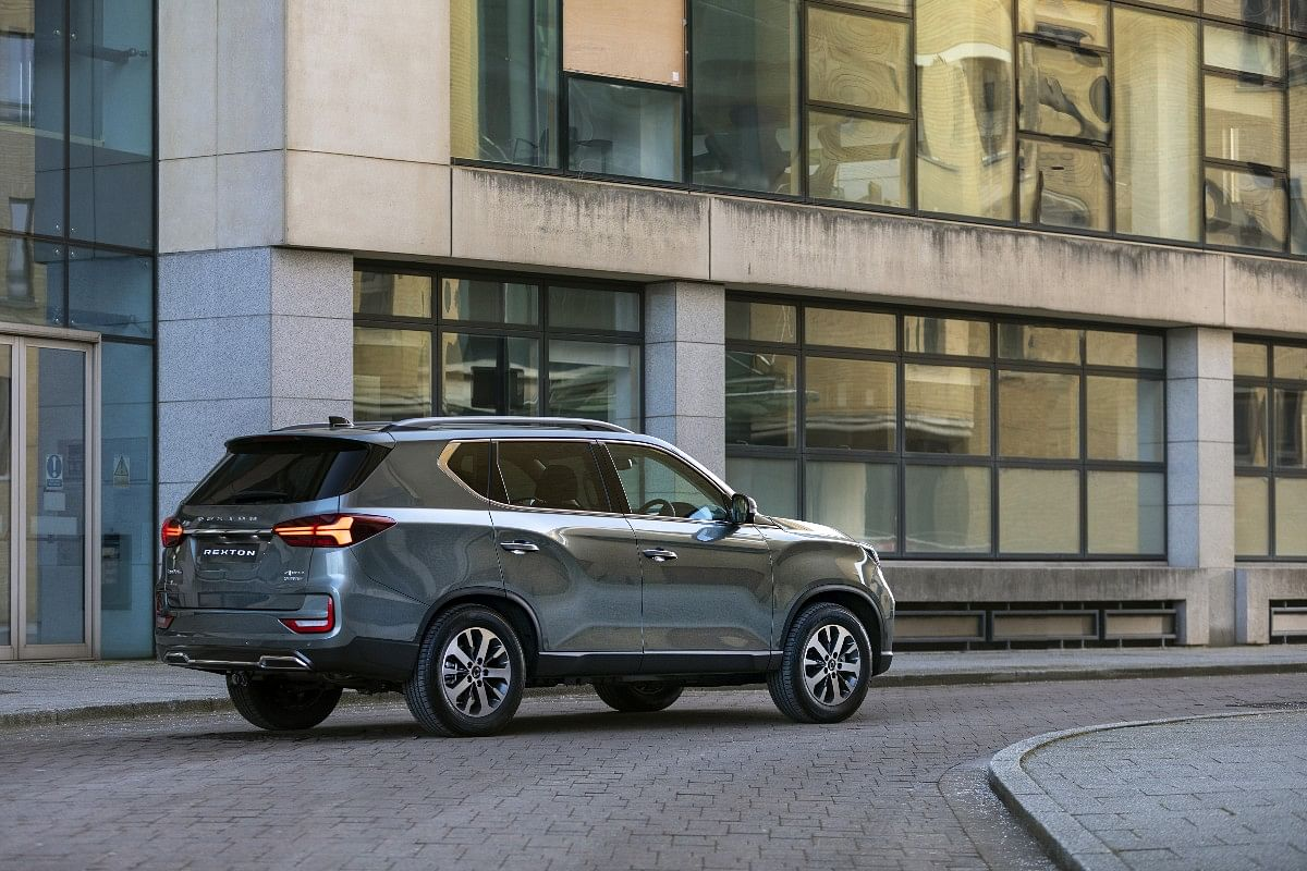 The 2021 Rexton gets LED Taillights and new rear bumpers