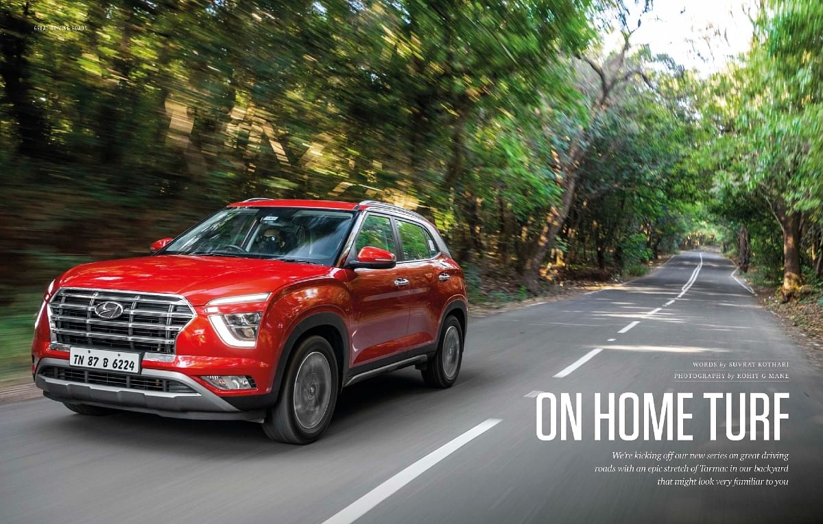 A brand new series with Hyundai where we go hunting for the greatest driving roads around the country
