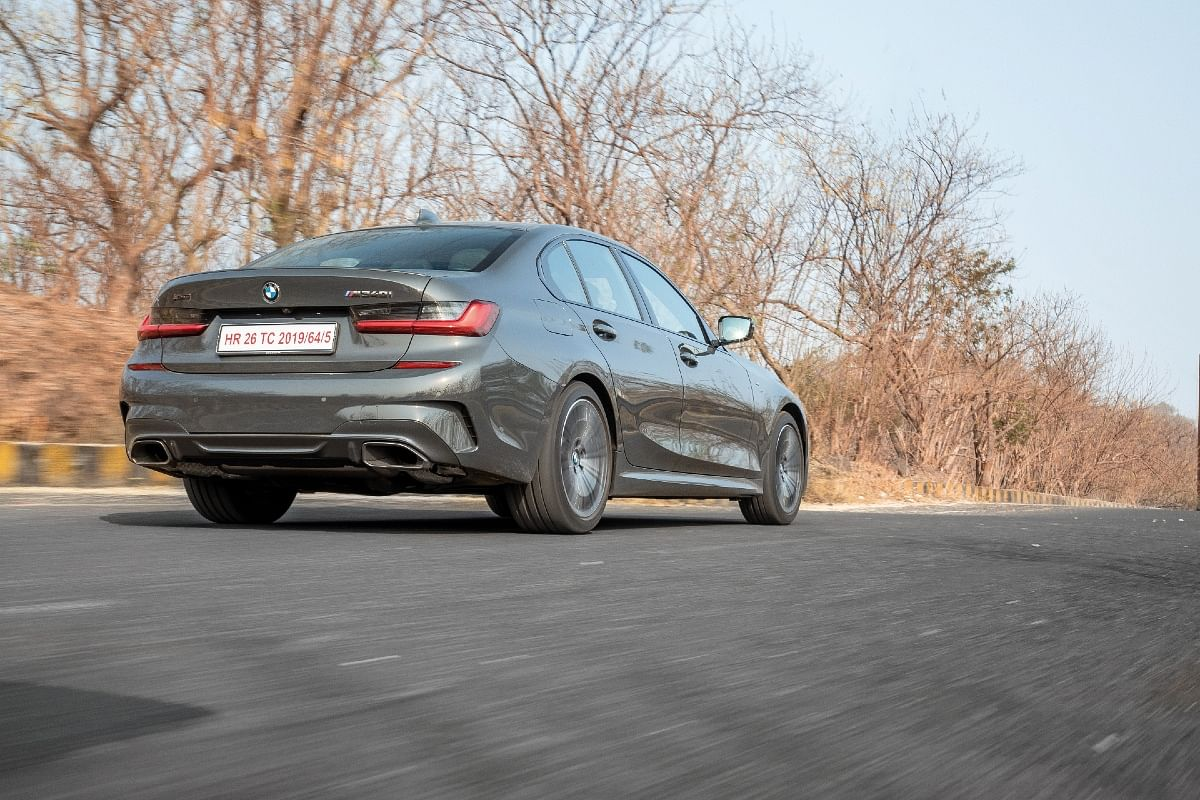 It is hard to distinguish a M340i from a regular 3 Series