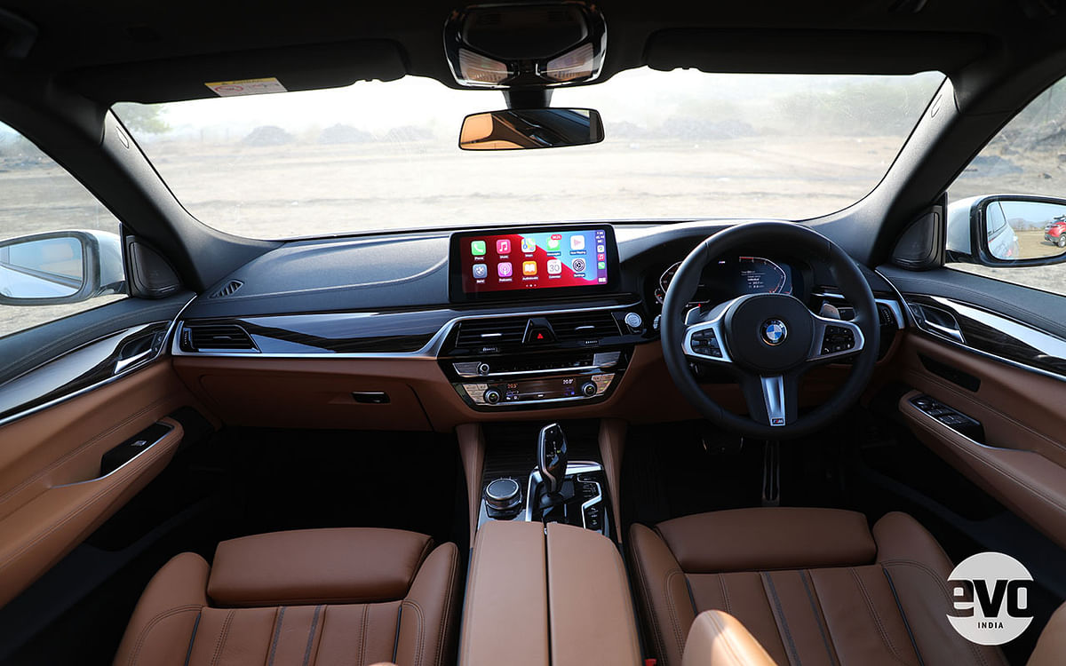 2021 BMW 6 Series GT gets a larger Infotainment screen, with M Sport models getting a sportier steering wheel