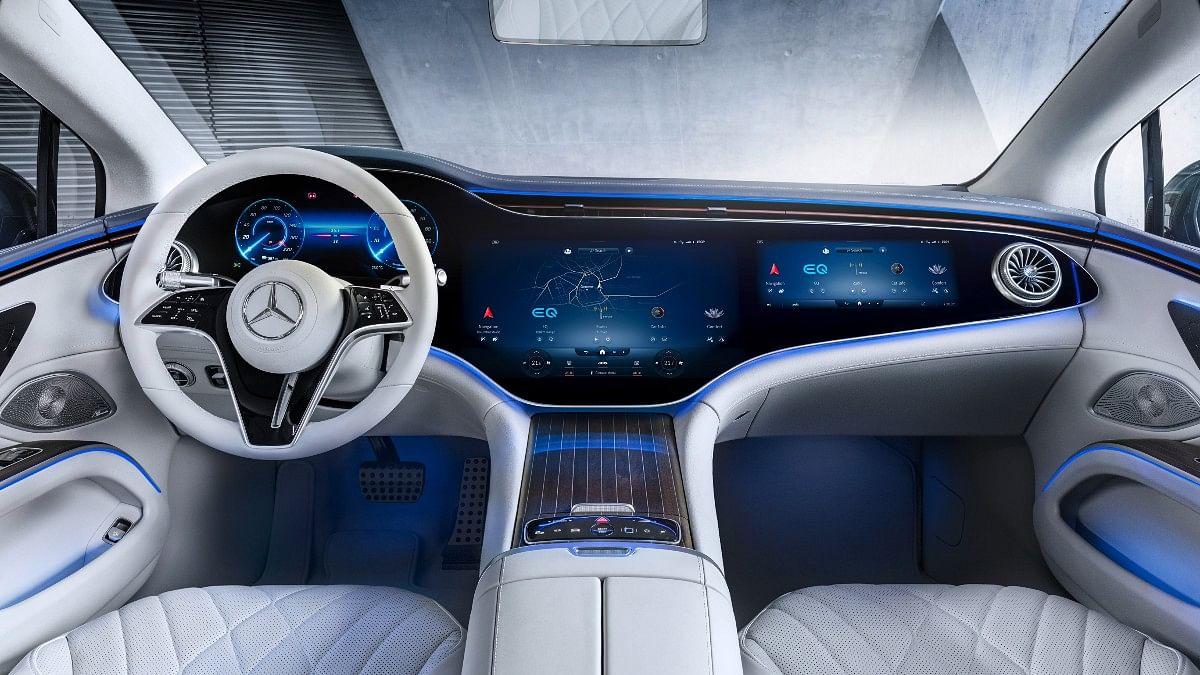 The EQS gets Mercedes' new digital Hyperscreen