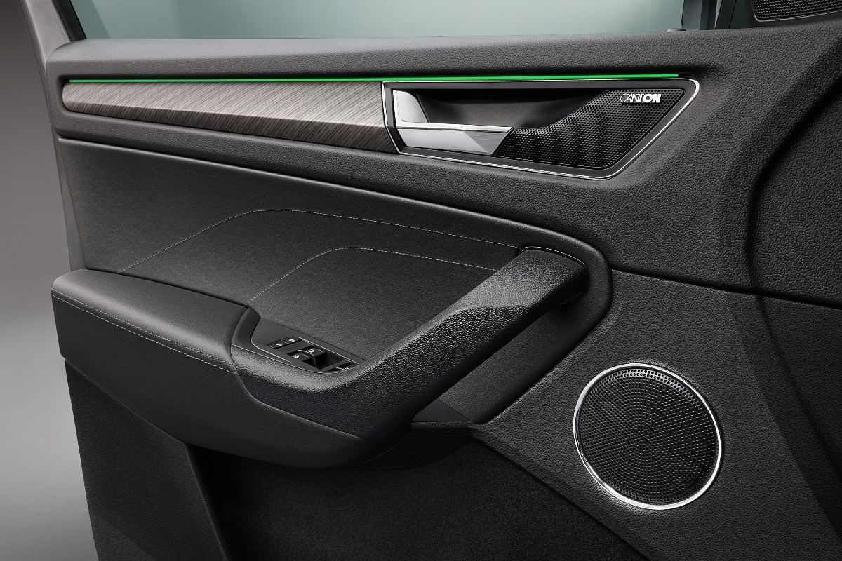 2021 Skoda Kodiaq gets a 12 speaker Canton sound system and Ambient lighting