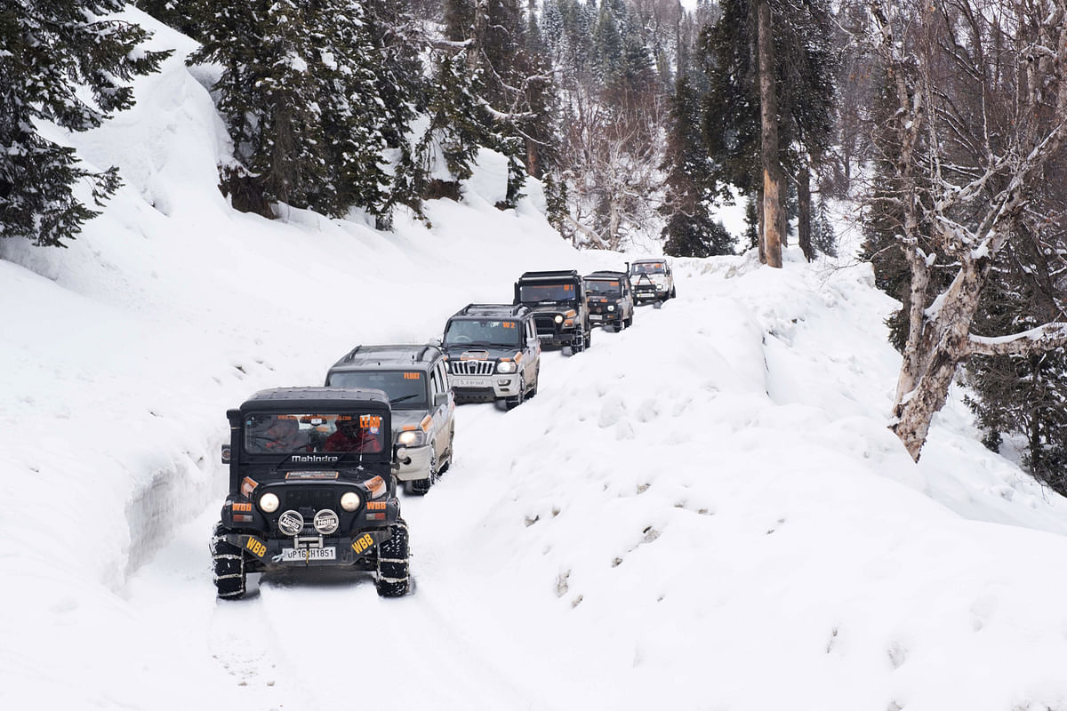 Extreme winter drive | North Kashmir