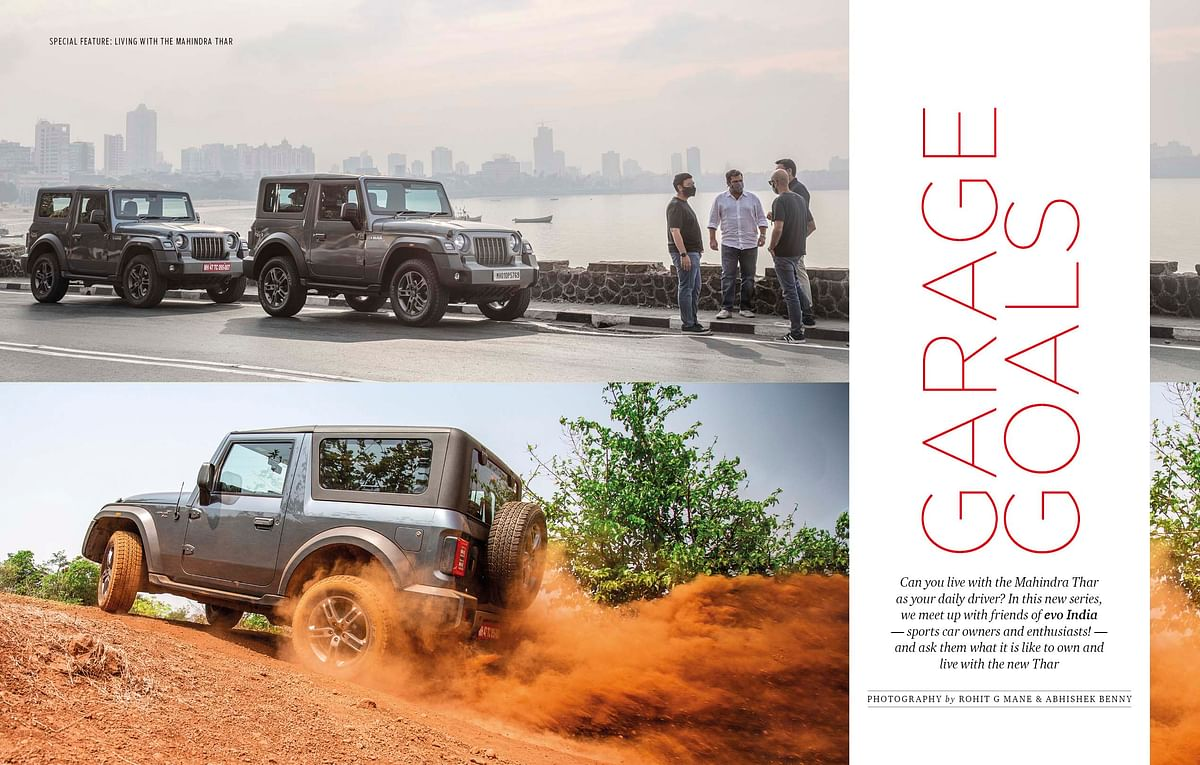 No, we can't stop talking about the Mahindra Thar yet