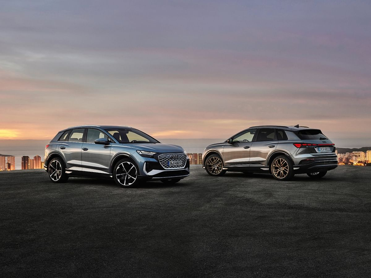 Audi Q4 e-tron and Audi Q4 Sportback e-tron revealed | Tesla Model Y rivals from Ingolstadt