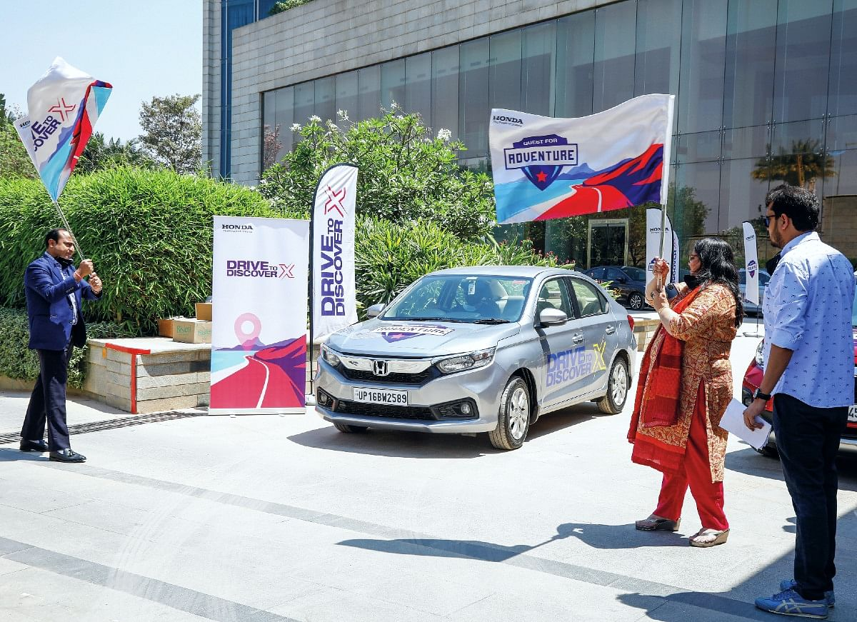The drive was flagged off from Bengaluru