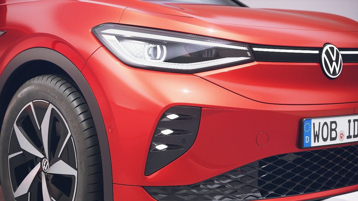 The Volkswagen ID.4 GTX gets three LED vertically stacked on both sides of the bumper