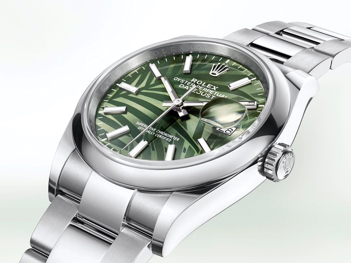 2021 Rolex Oyster Perpetual Datejust 36 with Bamboo dial