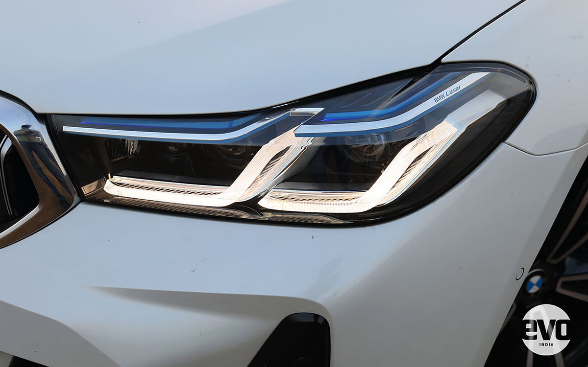 M Sport variants of the 6 GT get laser headlights